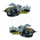 MPBMK00038-2007-09 Dodge Charger Emblem Pair  Mopar 68004237AA  68004236AA