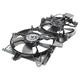 1ARFA00393-2002-06 Mazda MPV Radiator Dual Cooling Fan Assembly