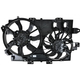 1ARFA00390-Chevy Equinox Pontiac Torrent Radiator Dual Cooling Fan Assembly