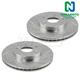 1APBR00087-Brake Rotor Pair
