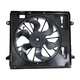 1ARFA00376-2007-11 Jeep Wrangler Radiator Cooling Fan Assembly