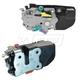 MPDRK00004-Dodge Dakota Durango Door Lock Actuator & Integrated Latch Pair  Mopar 68261043AA  68261042AA