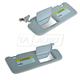 HYIMK00006-Hyundai Sonata Sun Visor Pair  Hyundai OEM 85201-0A750-QSQH  85202-0A750-QSQH