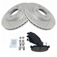 1APBS00370-Honda Civic Civic Del Sol CRX Brake Kit