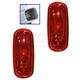 MPLPP00008-2003-09 Dodge Ram 3500 Truck Side Marker Light Pair