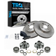 1ABMS00055-Geo Prizm Toyota Corolla Brake & Wheel Bearing Kit