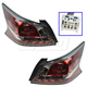 1ALTP00991-2014-15 Nissan Altima Tail Light Pair