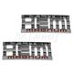MPBMK00061-2003-05 Dodge Nameplate Pair  Mopar 55077661AA