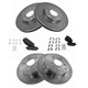 1ABFS02057-2004-09 Nissan Quest Brake Kit  Nakamoto MD855  MD905  31348  31389