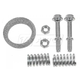 1AEMF00063-1998-01 Chevy Prizm Toyota Corolla Front Exhaust Pipe Gasket & Spring Bolt Kit