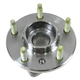 ACSHX00001-2005 Wheel Bearing & Hub Assembly Rear
