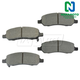 1ABPS02162-2006-11 Buick Lucerne Cadillac DTS Brake Pads  Nakamoto MD1172