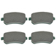 1ABPS02142-2004-07 Brake Pads  Nakamoto CD1021