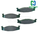 1ABPS02155-Ford Brake Pads