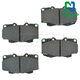 1ABPS02158-1999-04 Toyota Tacoma Brake Pads