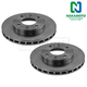 1ABFS02079-Brake Rotor Pair  Nakamoto 31060