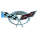 GMBEE00101-2003 Chevy Corvette Emblem  General Motors OEM 19207387