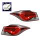 1ALTP00995-Hyundai Elantra Tail Light Pair