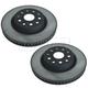 LXBFS00001-Lexus LS460 Brake Rotor Front Pair  Lexus 43512-50240