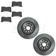 LXBFS00002-Lexus LS460 Brake Rotor Front Pair  Lexus 0446550260  4351250240