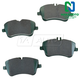 1ABPS02181-Mercedes Benz Brake Pads  Nakamoto CD872