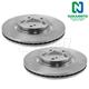 1ABFS02135-Brake Rotor Pair  Nakamoto 31468