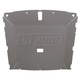 ZCIHL00391-1985-93 Ford Mustang Headliner
