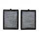 1ACAF00048-BMW Cabin Air Filter with Dual Carbon Elements