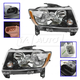 1ALTP00996-2013-16 Jeep Compass (MK) Headlight Pair