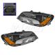 1ALHP01185-2012-15 Volkswagen Passat Headlight Pair