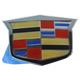 GMBEE00106-Cadillac CTS CTS-V STS Emblem  General Motors OEM 15263150