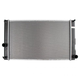 1ARAD00983-Lexus CT200h Toyota Prius Radiator