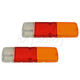 TYLTP00007-Toyota Land Cruiser Tail Light Lens Pair