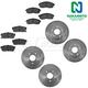 1ABFS02152-Infiniti I30 Nissan Maxima Brake Kit  Nakamoto MD653  MD540  31134  3218