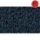 ZAICK25499-1998-04 Nissan Frontier Complete Carpet 801-Black  Auto Custom Carpets 12062-160-1085000000