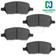 1ABPS02191-Brake Pads  Nakamoto CD1093
