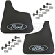 FDBSS00012-Ford Mud Flap Pair  Ford OEM E7TZ-16A550-A