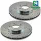 1APBR00145-Brake Rotor Pair  Nakamoto 34279-DSZ