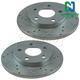 1APBR00173-Brake Rotor Pair