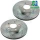 1APBR00170-Brake Rotor Pair