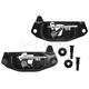 1ABMK00194-Tailgate Latch & Striker Kit