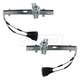 1AWRK00172-Kia Sephia Spectra Window Regulator Pair Front
