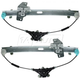 1AWRK00174-2006-11 Hyundai Accent Kia Rio Window Regulator Pair