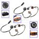 GMZMA00004-2008-12 Chevy Malibu Headlight Wiring Harness Pair  General Motors OEM 15930264