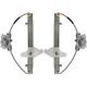 1AWRK00181-Hyundai Accent Window Regulator Pair