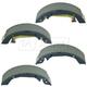 1ABPS02193-Hyundai Sonata Kia Optima Brake Shoes
