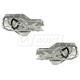 1AWRK00156-2001-06 Hyundai Elantra Window Regulator Pair