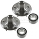 1ASHS00893-Acura RDX Honda CR-V Wheel Bearing & Hub Kit Pair