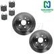 1ABFS02189-Lexus Brake Kit  Nakamoto CD771  31253