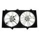 1ARFA00498-2007-09 Toyota Camry Radiator Dual Cooling Fan Assembly